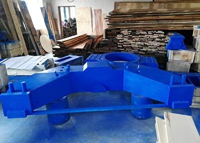 盘锦上框架木型